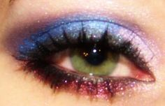 Patriotic Eye -  Curious, Glamorous, Precocious, Awestruck, Devious, Heart Broken, Refreshed & Younique3D Lashes