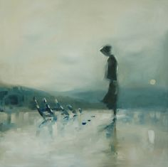 Saatchi Online Artist: scott mclachlan; Oil, 2012, Painting The Fishermans Wife