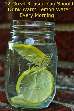 12 Great Reason You Should Drink Warm Lemon Water Every Morning! If you are looking for the easiest and most effective way to improve your health, you should definitely try to drink warm lemon water every morning. The consumption of this simple drink will have tremendous effect on your overall health.
