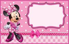 Minnie Mouse Template