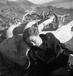 Imogen Cunningham By Consuelo Kanaga Napping 1952