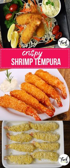 Shrimp Tempura with Tartar Sauce   Crispy Tempura