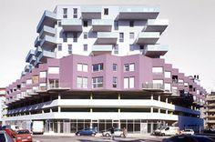 Le parti architectural de ce projet exprime la nécessaire mixité sociale et fonctionnelle de la ville en fondant son identité sur l'assemblage des différences.