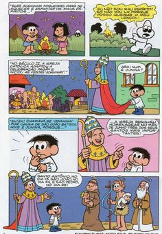 Festa e Santos Juninos em Quadrinhos! – Capela São José Operário