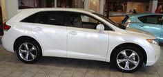 2012 Toytota Venza  Color: Blizzard Pearl    Landers Toyota Scion  10824 Colonel Glenn Road  Little Rock, AR, 72204