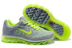 80999a0155f Nike Air Max 2011 Dark Grey Pine Green Men s Running Shoes a pair! Love  Womens style at org!