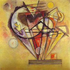 On the points, 1928, Wassily Kandinsky Size: 140x140 cm Medium: oil on canvas