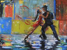 Tango!  Is sold!  Check out more visual music at http://www.lauraknapikbohn.com/visual-music.html