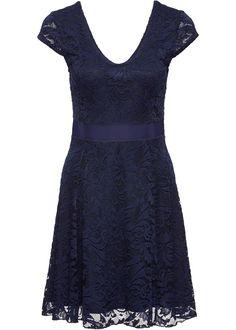 Jetzt anschauen  Překrásné žerzejové šaty značky Bodyflirt s ženskou  krajkou a jemně lesklým páskem v a02977356c