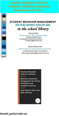 Positive Discipline Tools for Teachers : Effective Classroom Management for Soci. - Positive Discipline Tools for Teachers : Effective Classroom Management for Soci…- - Gentle Parenting, Parenting Quotes, Parenting Hacks, Classroom Discipline, Positive Discipline, Effective Classroom Management, Student Behavior, Summer Reading Program, Any Book