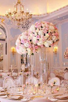 Beautiful wedding styling. #blushandgoldwedding