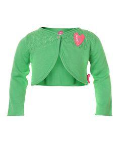 Green Twig Heart Bolero - cakewalk