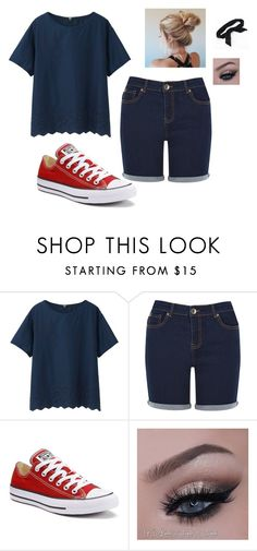 """""""Spring Fling"""" by phoridavies on Polyvore featuring Uniqlo, Oasis, Converse and Candie's"""