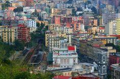 Mergellina train station, Naples