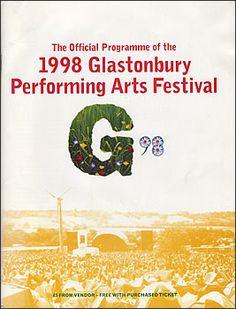 Glastonbury Festival 1998 Programme