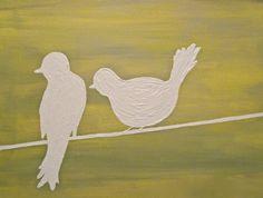 Bird Silhouettes found on Etsy
