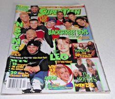 1999 SUPERTEEN Magazine with Posters Backstreet Boys Nsync Hanson Aaron Carter m