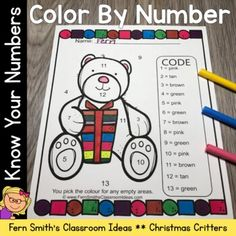 Your students will adore these Christmas Color Your Answer worksheets while learning and reviewing important skills at the same time! You will love the no prep, print and go ease of these printables. As always, answer keys are included. Ten Christmas Critters Color By Numbers Worksheets. This math r... Christmas Color By Number, Christmas Colors, Fifth Grade, Second Grade, Classroom Management Tips, Color By Numbers, Group Work, Math Resources, Small Groups
