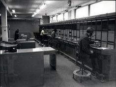 Press Photo PABX Telephone Exchange For New Scotland Yard At Broadway | eBay