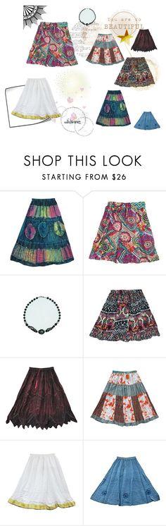 Bohemian Gypsy  Fashion Skirts by tarini-tarini on Polyvore