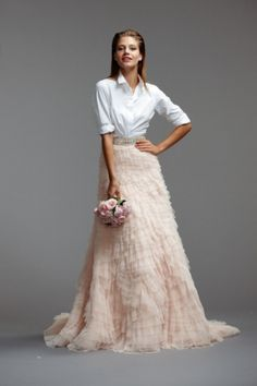 The Best Bridal Fashion Week Looks for Hipster Brides - Loverly