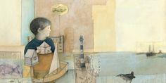 Tres veces tres la mar - Leonor Pérez - Ilustradora Chilena