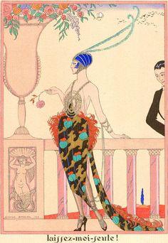 George Barbier - Laissez Moi Seule, 1919