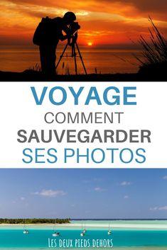 Vous partez en voyage et vous aimez la photo. On a tous peur de perdre ses photos et de ne plus avoir de souvenirs de ses vacances, non ? Je vous explique comment sauvegarder ses photos de voyages et les différentes solutions #voyage #vacances #sauvegarde #photo #photographie