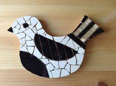Mosaic bird.