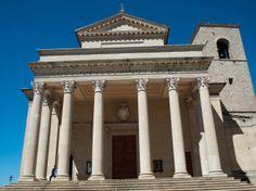 "Basilica di San Marino - ""San Marino – Micro-State Massive Views"" by @Suzanne Courtney @TheTravelBunny"