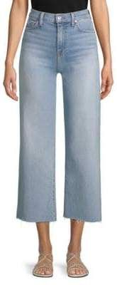 7 For All Mankind Alexa Cropped Wide Leg Jeans Cropped Wide Leg Jeans, Bermuda Shorts, Legs, Women, Fashion, Moda, Fashion Styles, Fashion Illustrations, Fashion Models