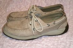 Sperry Top-Sider Intrepid Girls Shoes Size 4 EUC #SperryTopSiders #CasualShoes