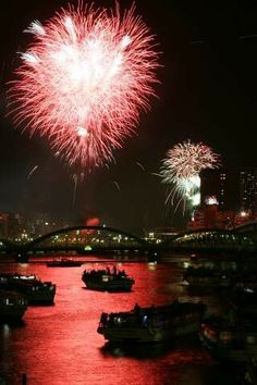 Sumida River Fireworks Festival - Taito City Official Website