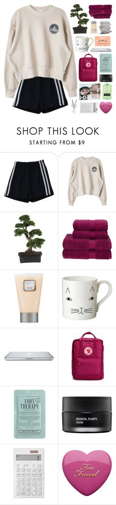 """""""aleezas x four"""" by hhuricane ❤ liked on Polyvore featuring Nearly Natural, Christy, Laura Mercier, Donna Wilson, Fjällräven, Kocostar, Koh Gen Do, Muji, infinitysetchallenge and philosoqhytags"""
