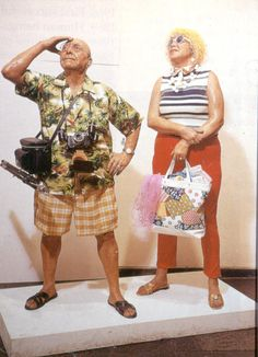 Tourists - Duane Hanson