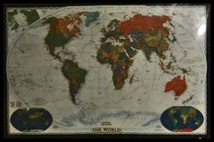 Our World Map.