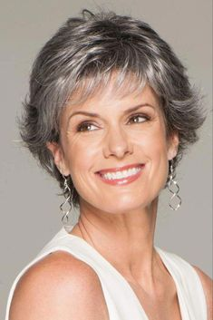 Conviction by Eva Gabor Wigs Short Hairstyles Over 50, Layered Bob Hairstyles, Hairstyles For Round Faces, Wig Hairstyles, Elsa Hairstyle, Pixie Haircuts, Formal Hairstyles, Hairdos, Hairstyle Ideas