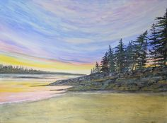 Bailey Island Sunset by KellieLynnArt on Etsy, $800.00