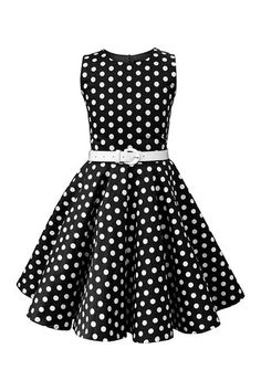 online shopping for BlackButterfly Kids 'Audrey' Vintage Polka Dot Girls Dress (Black, yrs) from top store. See new offer for BlackButterfly Kids 'Audrey' Vintage Polka Dot Girls Dress (Black, yrs) Vintage Outfits, Vintage Inspired Dresses, Vintage Dresses, Vintage Fashion, 50s Dresses, Cute Dresses, Fashion Dresses, Girls Dresses, Girls Party Dress
