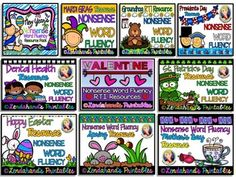 My RTI Nonsense Word Fluency Bundle is all complete!  I hope this can help you with your RTI Groups:)