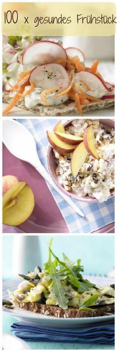 Mit diesen gesunden und leckeren Frühstücksideen kannst du gestärkt und voller Energie in den Tag starten! | http://eatsmarter.de/rezepte/rezeptsammlungen/gesundes-fruehstueck#/0
