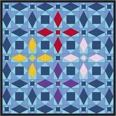 This classic block was designed in 1932 and remains a favorite of quilters everywhere. Depending on how you color this block, you can make all sorts of intricate designs. This tutorial explains two different methods of making this block, including using the Tri-Recs Ruler. #scrapdash Storm At Sea Quilt, Isosceles Triangle, Quilting 101, Cute Cuts, Blue Square, Table Toppers, Quilt Tutorials, Quilt Top