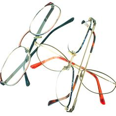 Eyeglasses: Donate to the Lion's Club who has a long history of helping people who need glasses get them.