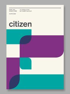 Citizen Poster / John Vrhovnik