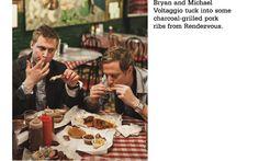 The Voltaggio Brothers visit the Rendezvous , Williams-Sonoma Fire, Smoke & Flavor