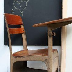 old school-school chair