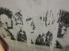 Amazing [fading] stencil, punks + Hacids. Jerusalem, Israel.