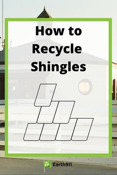 Looking to recycle shingles? Use the recycling locator here to find a location in your area: http://earth911.com/recycling-guide/how-to-recycle-shingles/