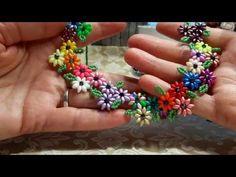 ► Friendship Bracelet Tutorial 9 - Beginner - The Pumpkin Br Seed Bead Necklace, Beaded Necklace, Beaded Bracelets, Necklaces, Friendship Bracelets Tutorial, Bracelet Tutorial, Beading Projects, Beading Tutorials, Jewelry Patterns