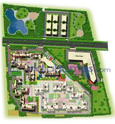Master Plan Apartment Complex Design And Maps